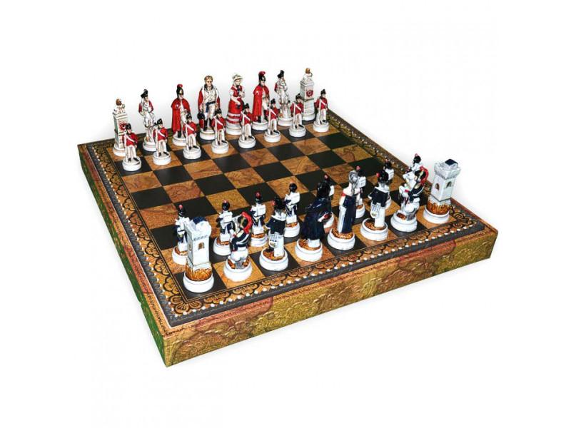 История ожившая на шахматном поле. Шахматы из Италии от Nigri Scacchi