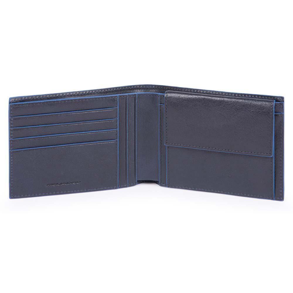 B2S/Blue Портмоне с отдел. для монет с RFID защитой (13x9,5x2)