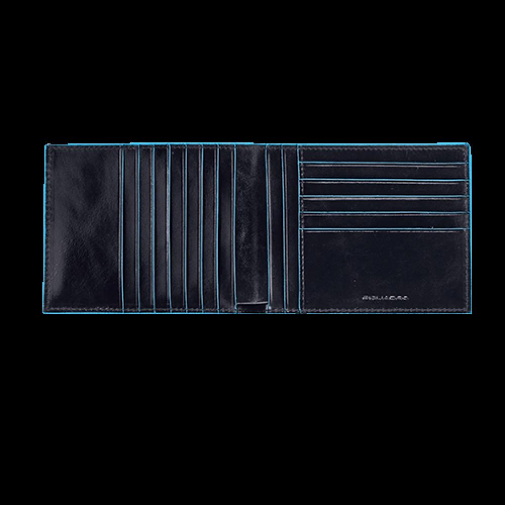 BL SQUARE/N.Blue Портмоне с отдел. для 12 кред.карт (12,5x9,5x1,5)