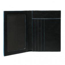 BL SQUARE/Black Портмоне верт. с отдел. д/док. (9,5x12,5x1,5)