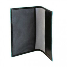 BL SQUARE/Black Обложка для паспорта (9,5x13,5x1)