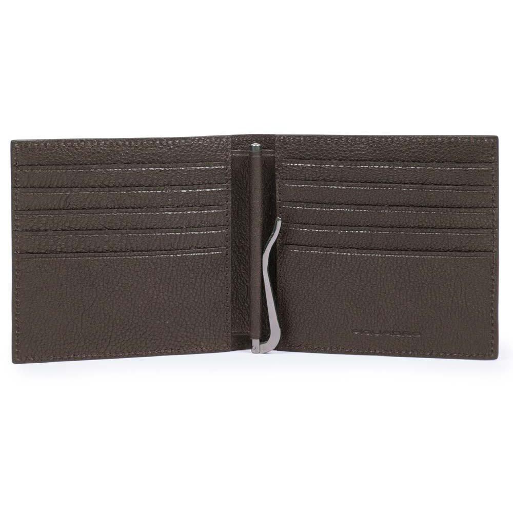 BK SQUARE/D.Brown Портмоне с зажимом д/банкнот с RFID защитой (10,5x9,5x1,5)