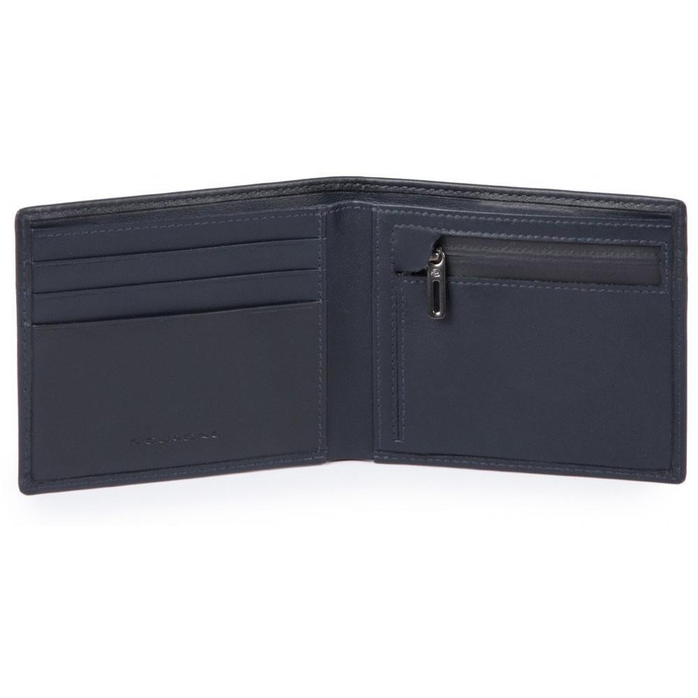 URBAN/Blue Портмоне с отдел. для монет с RFID защитой (11x9x1,5)