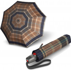 Зонт T.200 Check Toffee Авто/Складной/8спиц /D98x28см
