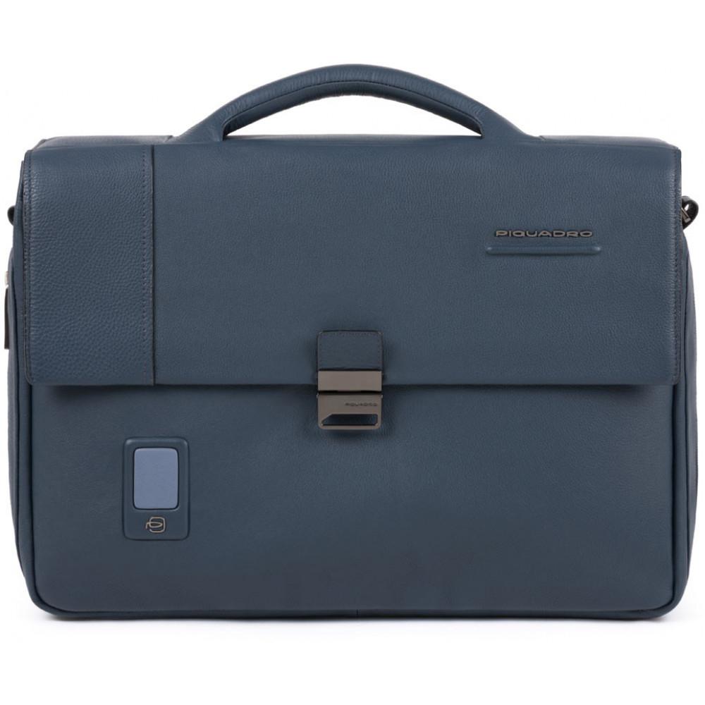 "AKRON/Blue Портфель с отдел. д/ноутбука 15""/iPad Air/Pro (42x31x8)"