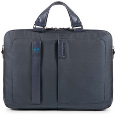 "PULSE/ChevronBlue Портфель двуручн. с отдел. для ноутбука 15,6""/iPad (41x29x10)"