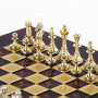 Шахматы Manopoulos классические в футляре