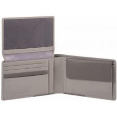AKRON/Grey Портмоне гориз. с отдел. для док. с RFID защитой (13x9x2,5)
