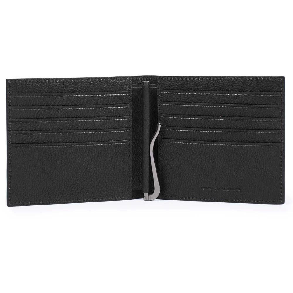 BK SQUARE/Black Портмоне с зажимом д/банкнот с RFID защитой (10,5x9,5x1,5)