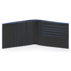 B2S/Black Портмоне с отдел. для 12 кред.карт с RFID защитой (13x9,5x1,5)