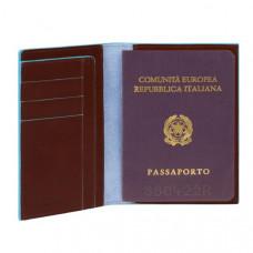 BL SQUARE/Cognac Обложка для паспорта (10,5x14x1,2)