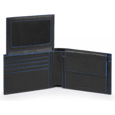 B2S/Black Портмоне гориз. с отдел. для док. с RFID защитой (13x9x2,5)