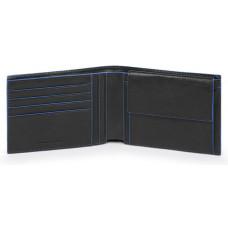B2S/Black Портмоне с отдел. для монет с RFID защитой (13x9,5x2)