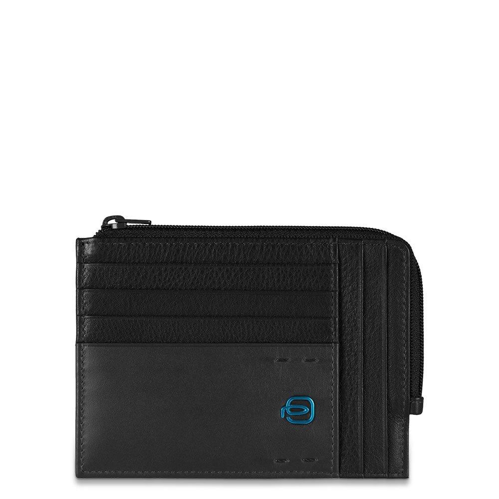 PULSE Black Кредитница с отдел. для монет