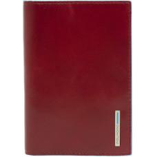 BL SQUARE/Red Обложка для паспорта (9,5x13,5x1)