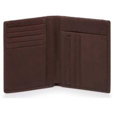 BRIEF/D.Brown Портмоне верт. с отдел. для 9 кред.карт с RFID защитой (9,5x12,5x1,5)