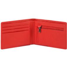 AKRON/Red Портмоне с отдел. для монет с RFID защитой (12x9,5x1,5)