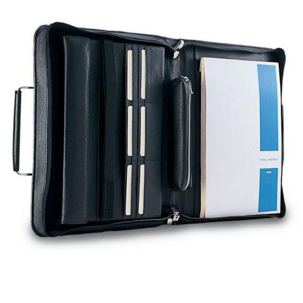 MODUS/Black Кейс д/ноутбука с блокнотом А4 (29x34x5)