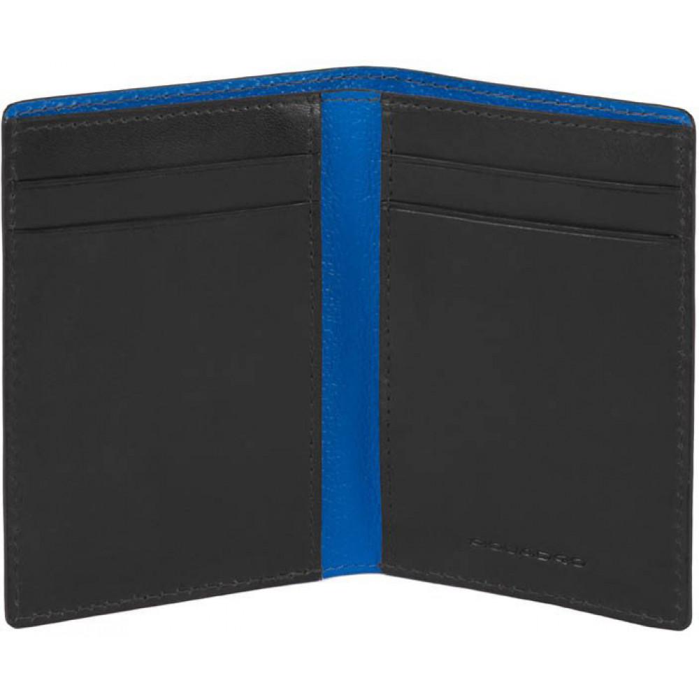 BOLD Black Кредитница верт. с RFID защитой