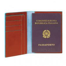 BL SQUARE/Orange Обложка для паспорта (10,5x14x1,2)