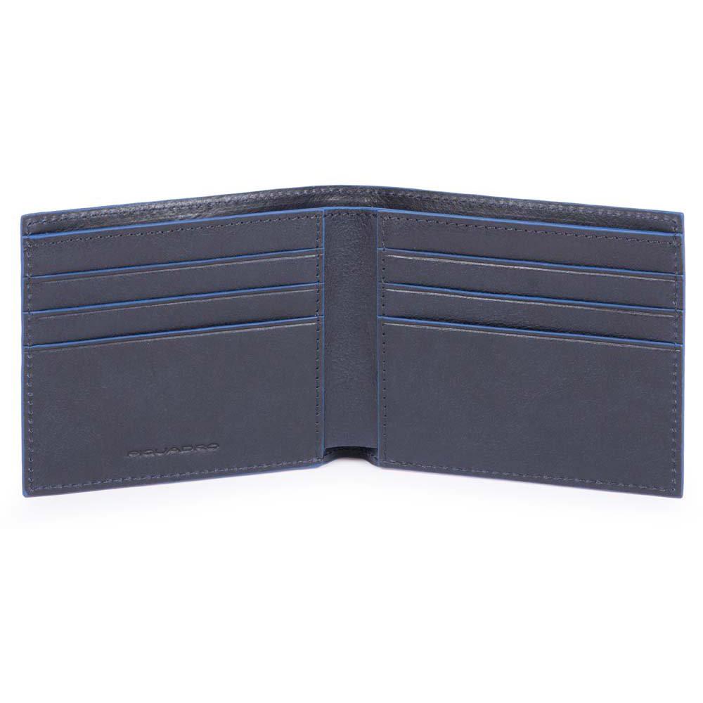 B2S/Blue Портмоне с отдел. для док. с RFID защитой (11x9x1,5)