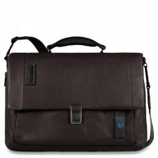 PULSE/Brown Портфель с отдел. д/ноутбука/iPad/iPad Air/iPad mini со сьемным ремнем (41,5x29x12)
