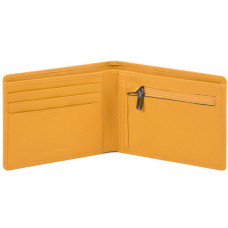 AKRON/Yellow Портмоне с отдел. для монет с RFID защитой (12x9,5x1,5)