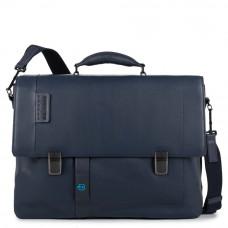 """PULSE/N.Blue Портфель с отдел. д/ноутбука 15,6""""/iPad Air/Pro (43x33x10,5)"""